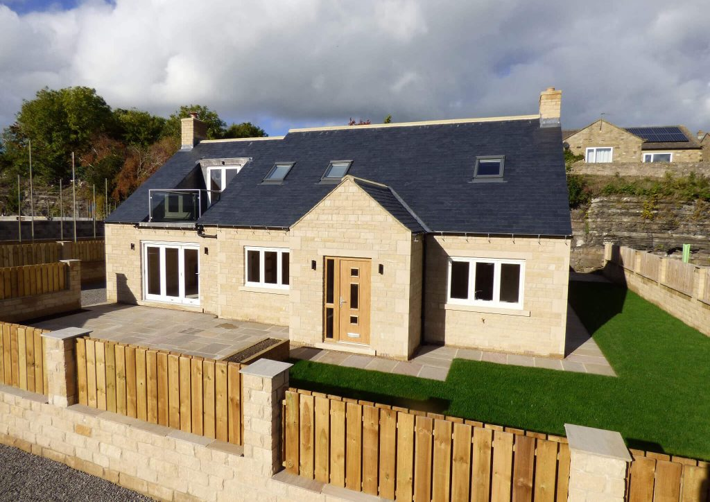 Harmby Homes Middleham View, Harmby front view