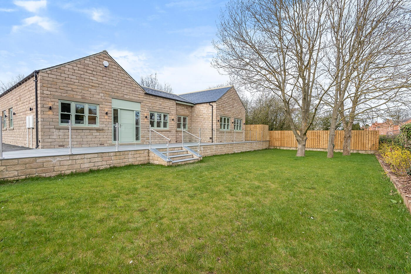 Harmby Homes - Barley Court, Staveley The Brocket garden