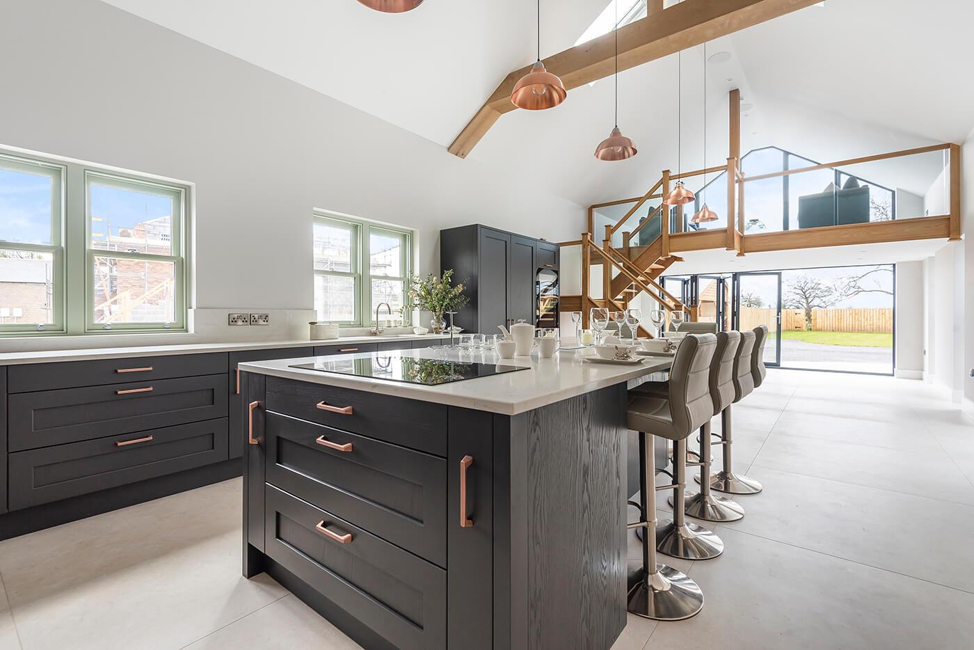 Harmby Homes - Barley Court, Staveley The Brocket kitchen