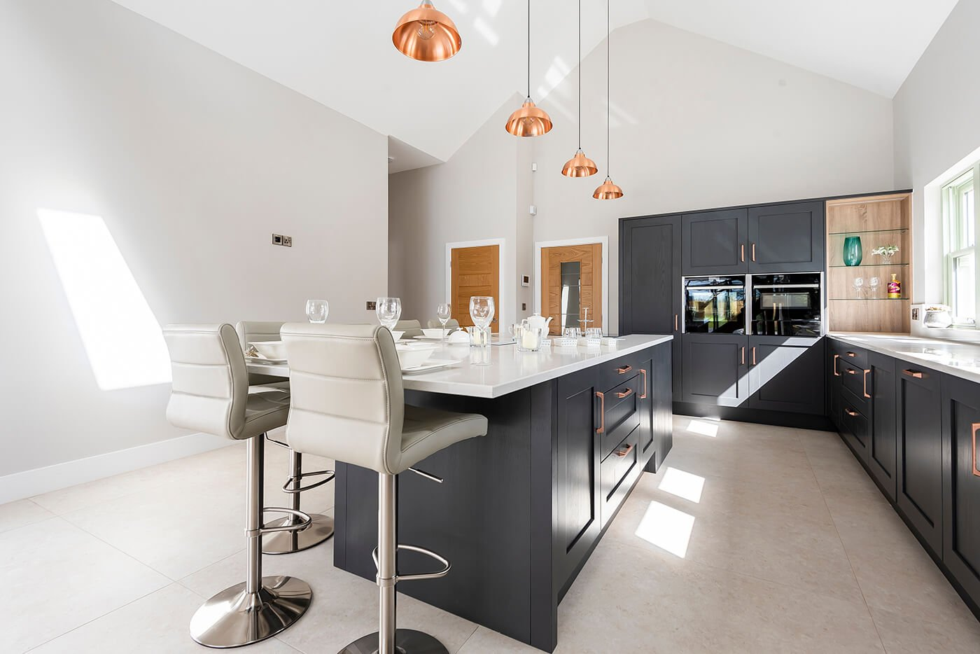 Harmby Homes - Barley Court, Staveley The Brocket kitchen