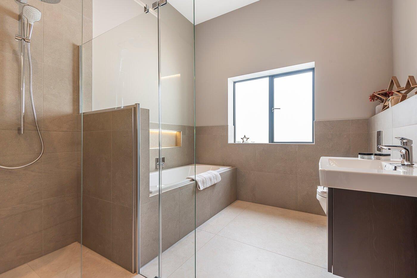 Harmby Homes - Barley Court, Staveley The Brocket bathroom